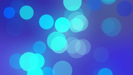 4k bokeh blue lens motion background
