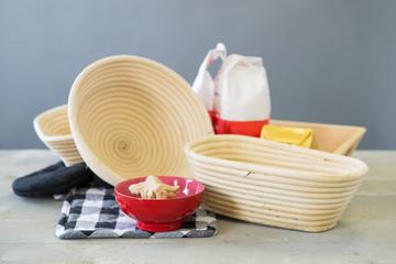 Equipment for baking bread