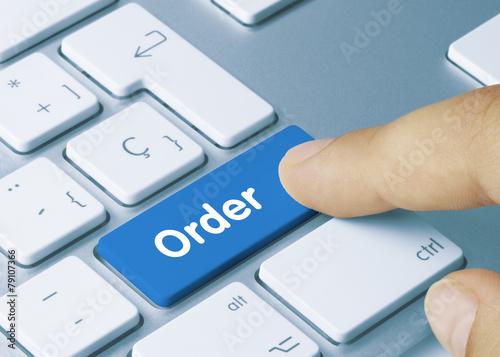 Leinwanddruck Bild Order