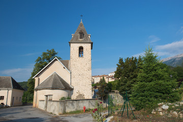 Village Neffes in the Haute Provence