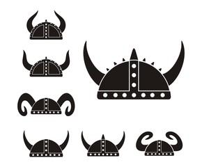 barbarian helmet - pictogram