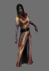 Lady zombie