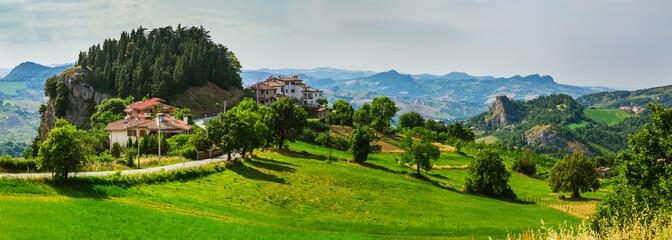 Tuscan farmhouse in Italy