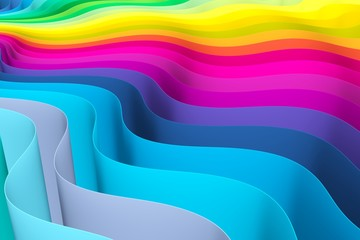 abstract background with lines wave color