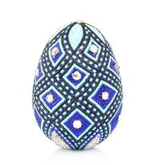 Easter egg isolated on white