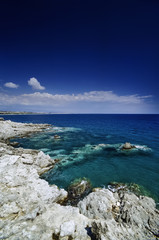 Italy, Calabria, Squillace Gulf, the coastline - FILM SCAN