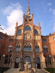 Saint Paul Hospital in Barcelona
