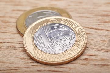 Money coins Brazilian