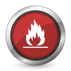 flame red icon