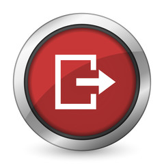 exit red icon