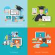 Online Education Flat - 79113589