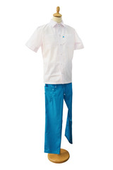 Medical clothing dentist isolated