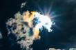 canvas print picture - Strahlender Sonnenschein