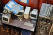 Leinwandbild Motiv Old Computers