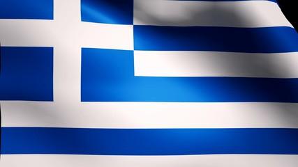 Greece flag loop