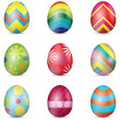 Colorful Easter Eggs - 79116507