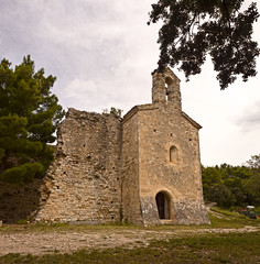 Saints Cosmas and Damian chapel in Gigondas