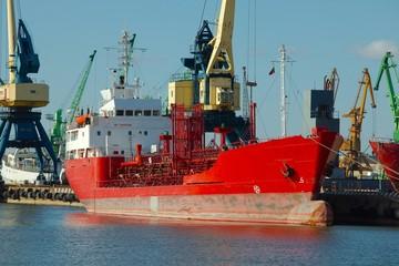 Industrial dock