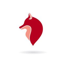 Fox head icon