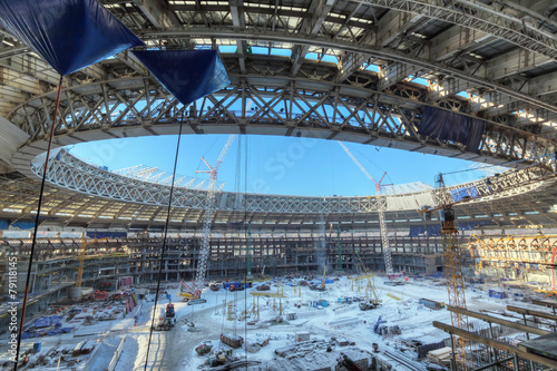 Reconstruction Luzhniki Stadium, Moscow - 79118145