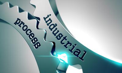 Industrial Process on Metal Gears.