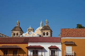 Plaza De La Aduana in Cartagena
