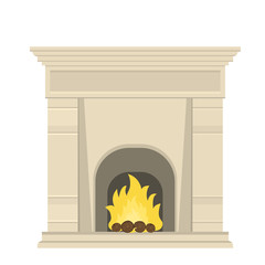 fireplace in the Baroque