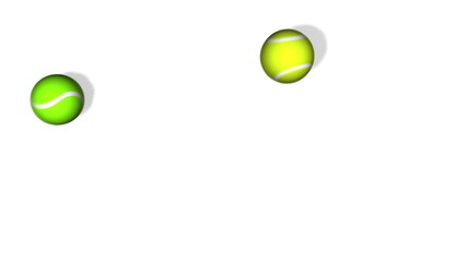 Tennis Ball Bounce Animation