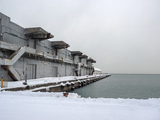 Port Warehouse in the winter