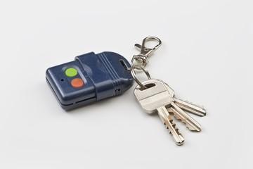 Remote control with keys