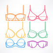 Different colored bras - 2 - 79126379