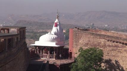 Chamunda Mataji hinduTemple on Mehrangarh fort, Jodhpur