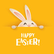 Happy Easter! Easter greeting card. - 79127121