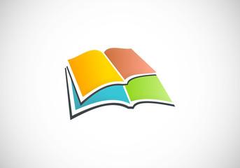 books color vector logo