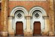 Old door of a church