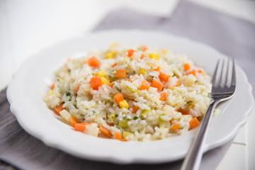 Gemüse Risotto