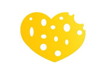 Käse Herz / Chees Heart
