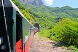 El Chepe train in the Copper Canyon, Mexico