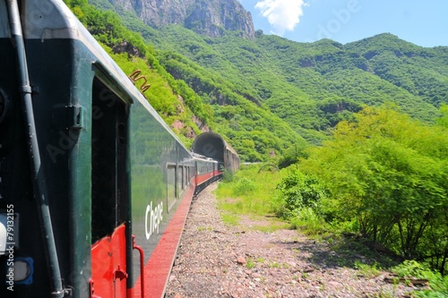 El Chepe train in the Copper Canyon, Mexico - 79132155