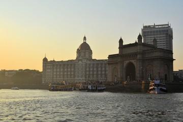 Taj Mahal Palace in Mumbai, India