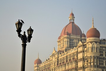 Taj Mahal Palace in Mumbai, India