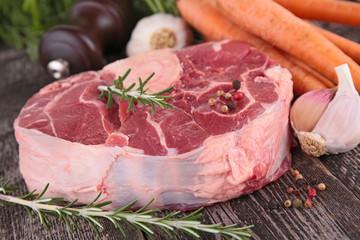 raw beef piece