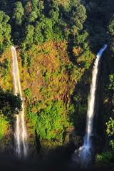 Beautiful Unesco Tad Fan Waterfall in southern Laos