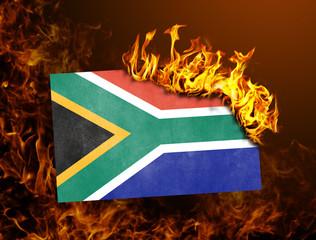 Flag burning - South Africa