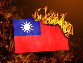 Flag burning - Taiwan