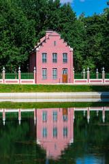 Dutch brick house in Kuskovo Park