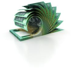 100 Australian Dollar Composition