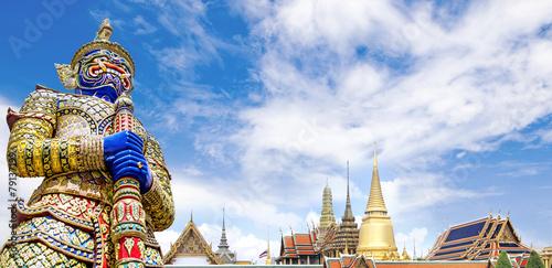 Wat Phra Kaeo,Bangkok,Thailand