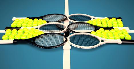 Tennis school.