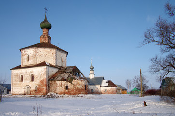 The Holy Cross Church and the Church of Cosmas and Damian in Suz
